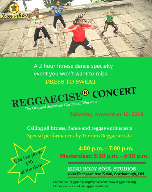 Reggaecise Concert