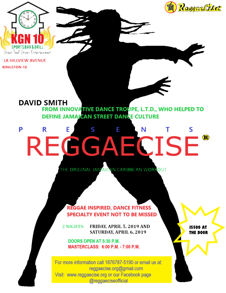 Reggaecise April